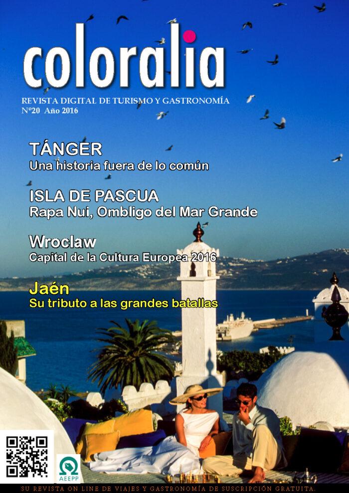 Portada Revista Traveling Nº20