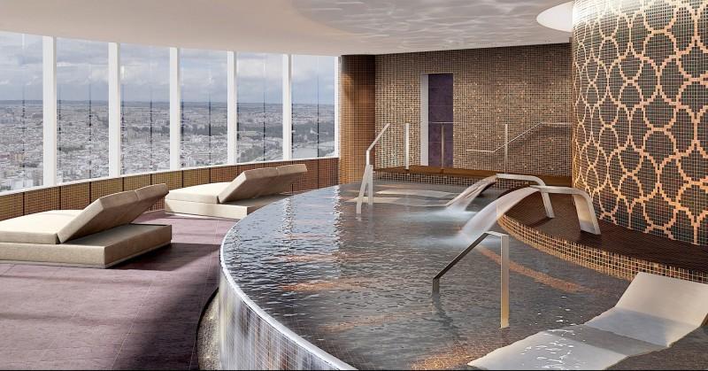 Eurostars hotel spa a mas de 150m de altura