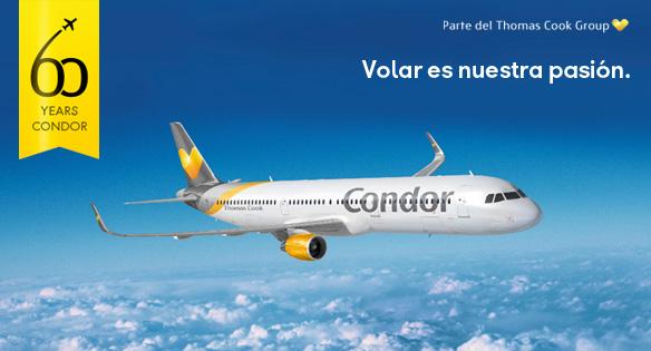 Condor líneas aéras estrena facebook en español