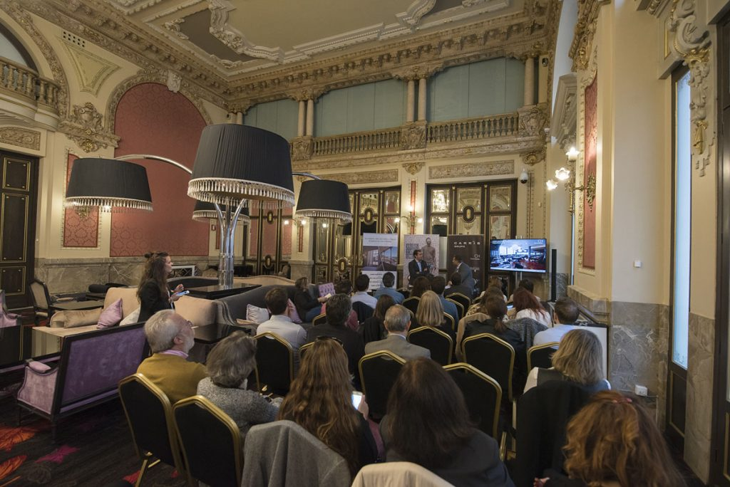 Presentacion de Hoteles Carris en Madrid