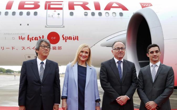 Iberia vuelve a volar a Tokio