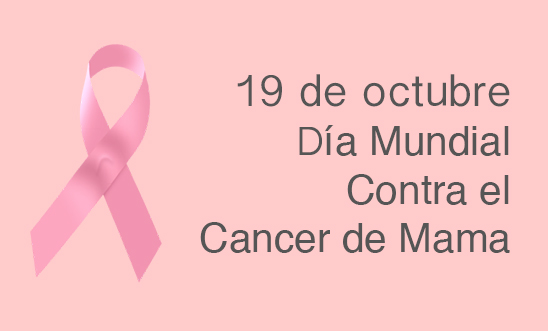 Dia internacional contra el cancer de mama