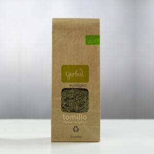 Paquete de tomillo ecológico de Yerbal