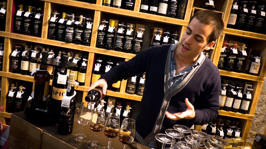 De vinos por Lisboa