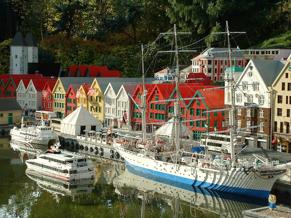 Parque Legoland de Dinamarca