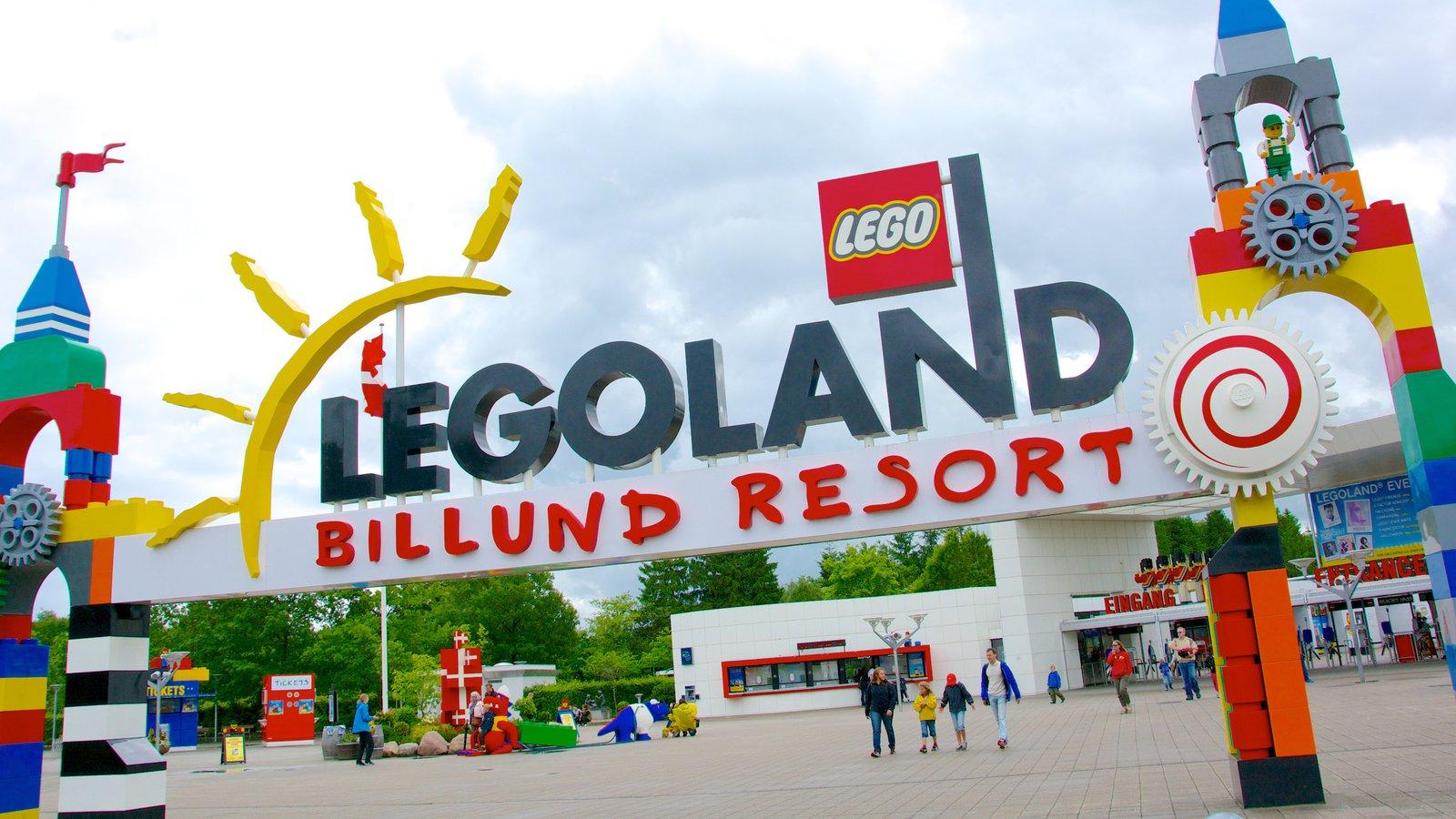 Parque Legoland en Dinamarca