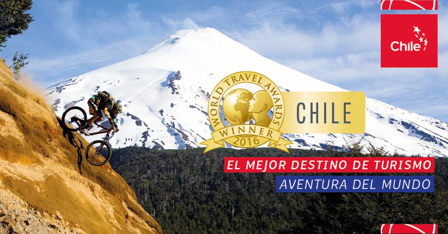 chile premiado como mejor turismo de aventura