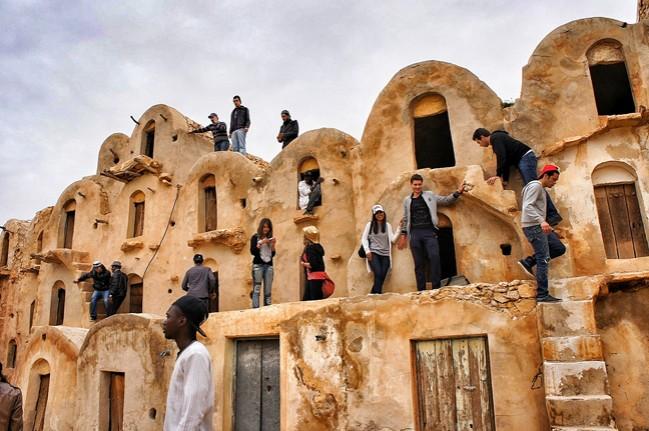 Graneros tunecinos que inspiraron parte de los decorados de 'La guerra de las galaxias'