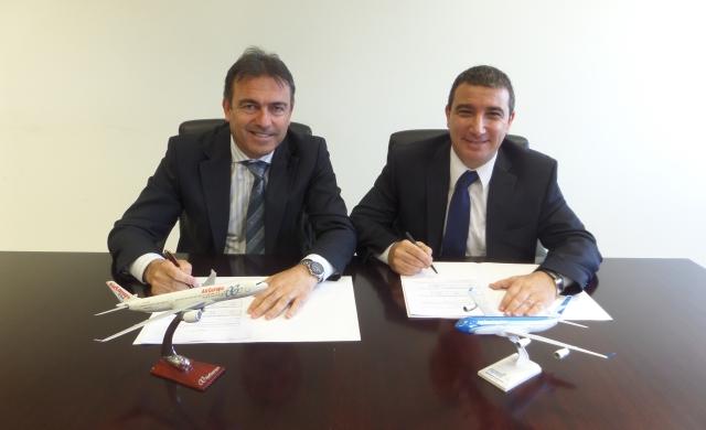 Acuerdo entre air europa y aerolineas argentinas en Fitur