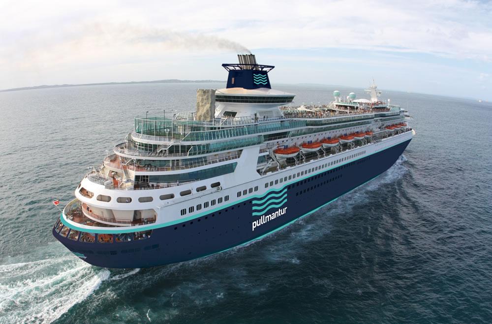 Vista del barco sovereing
