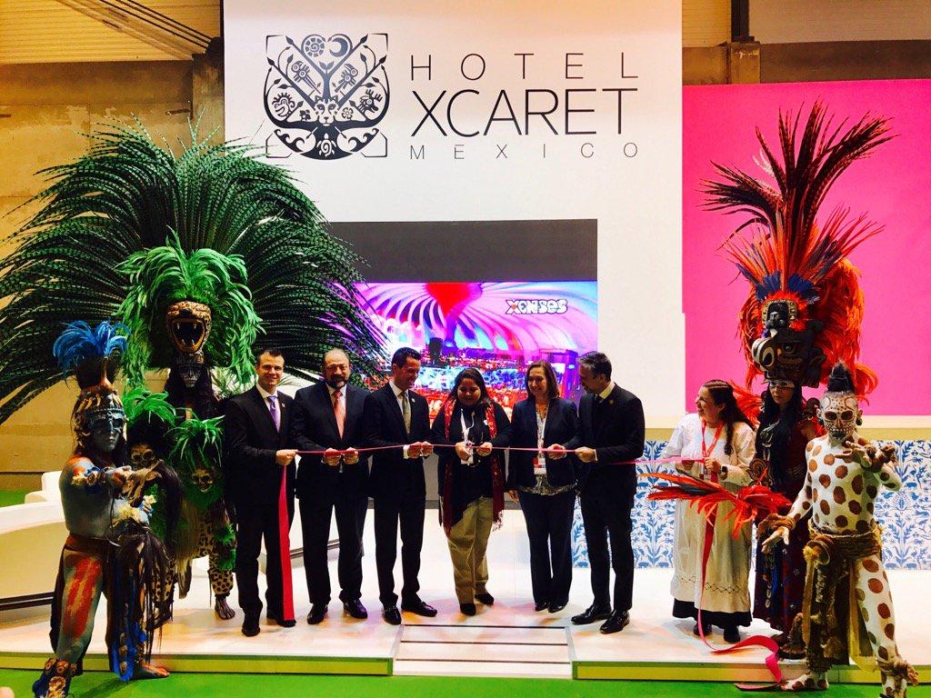 Presentación del hotel Xcaret de México en FITUR 2017