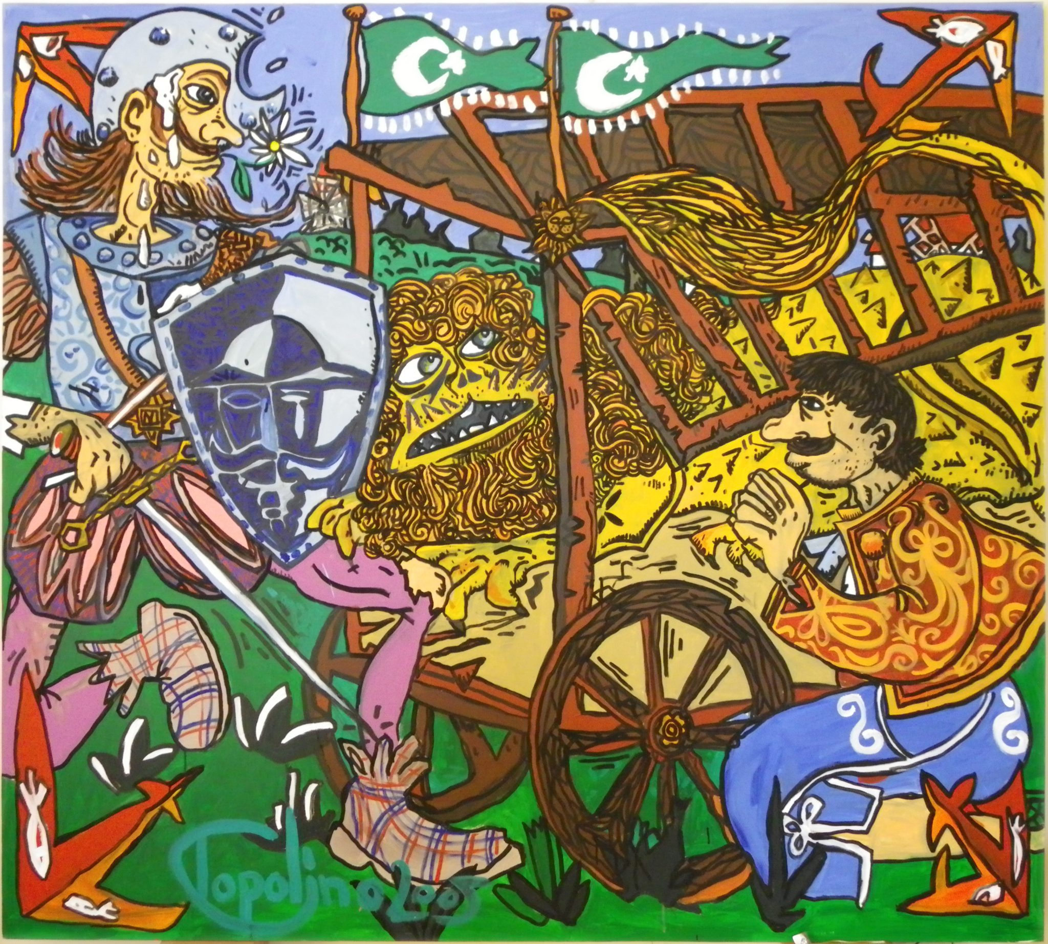 Don Quijote, exposición, IFM