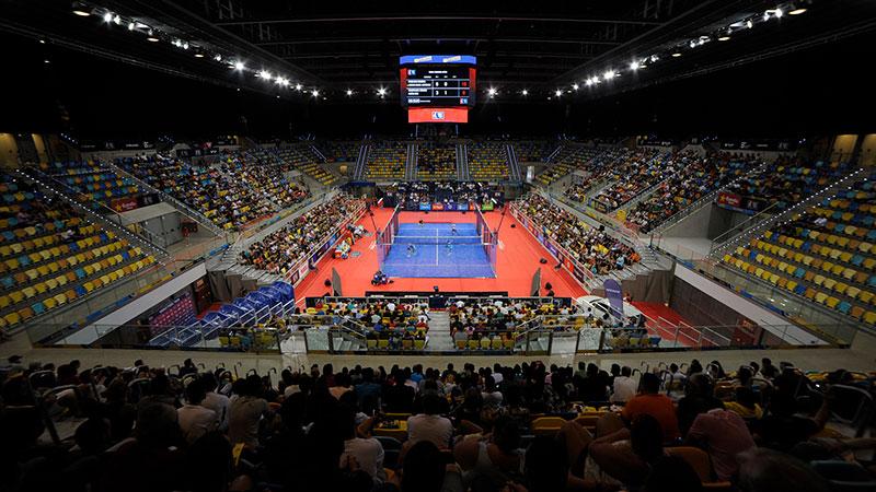 Estadio Polivalente campeonato de padel en Gran Canaria