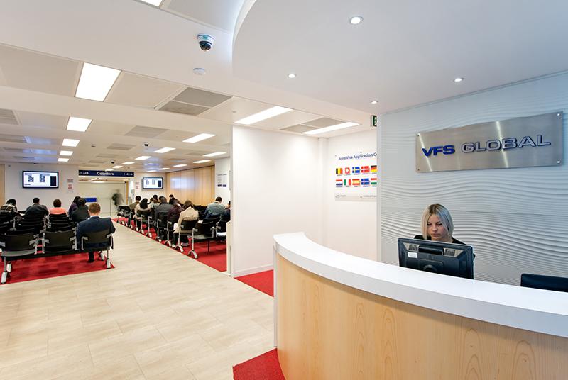 Oficinas de VFS-Global