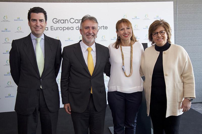 Presentación en Madrid de Gran Canaria la isla europea del deporte