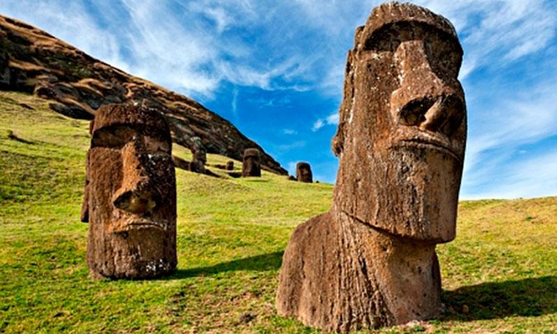 Rapa Nui en la Isla de Pascua