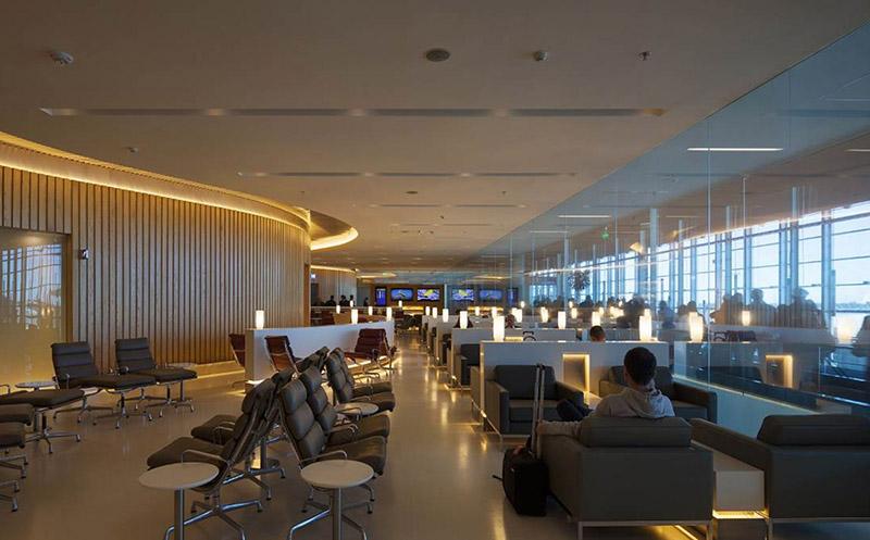 Sala Vip aeropuerto MAdolfo Suarez MAdrid Barajas T4