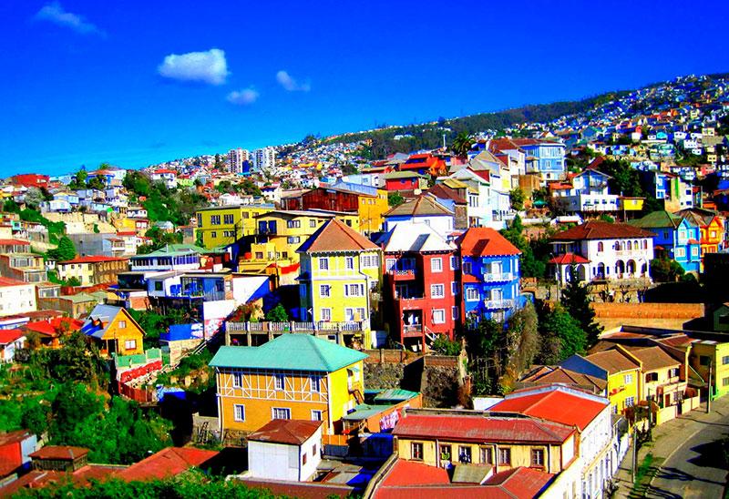 Barrio histórico de Valparaiso
