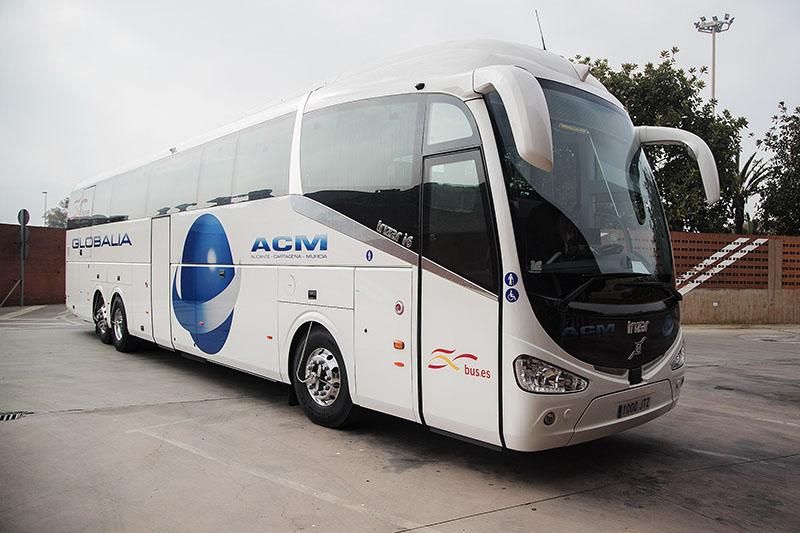 Globalia autocares inaugura el servicio de bus entre Cartagena y Alicante