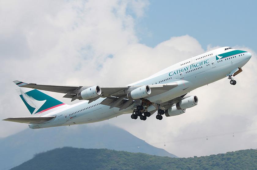 B-747 de Cathay Pacific Airways