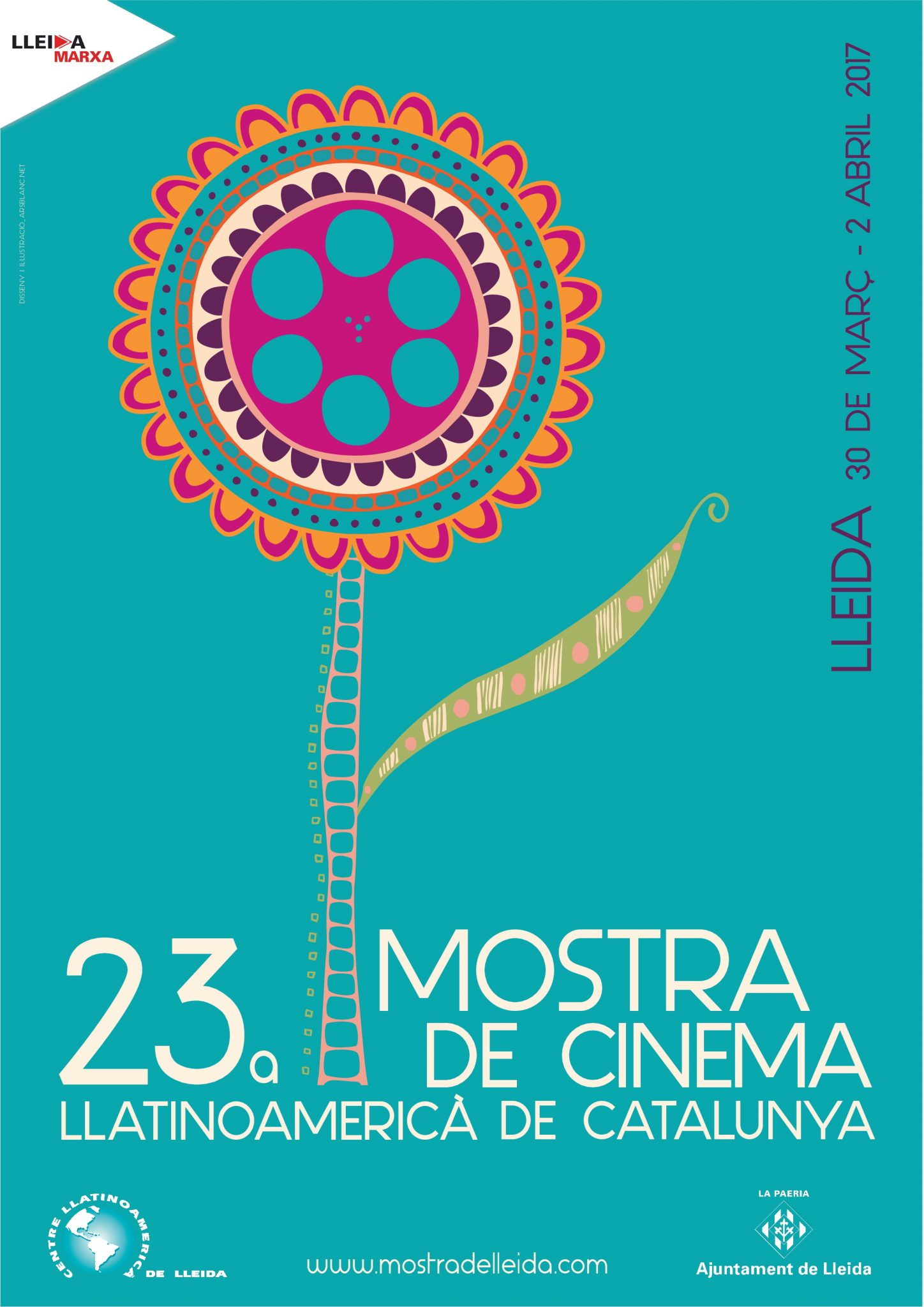 muestra, cine, Lleida