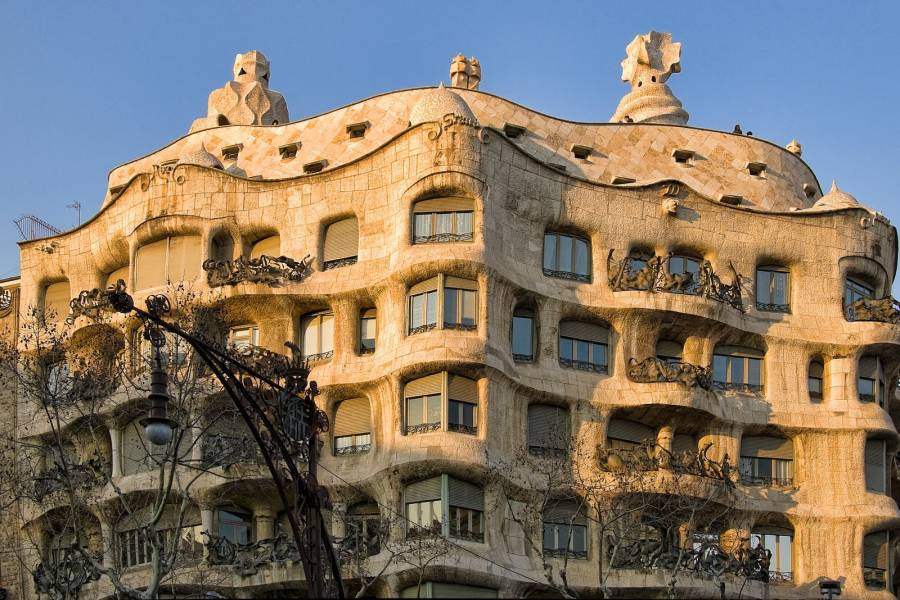 La Pedrera, Casa Mila hoy Hotel Majestic de 5 estrellas
