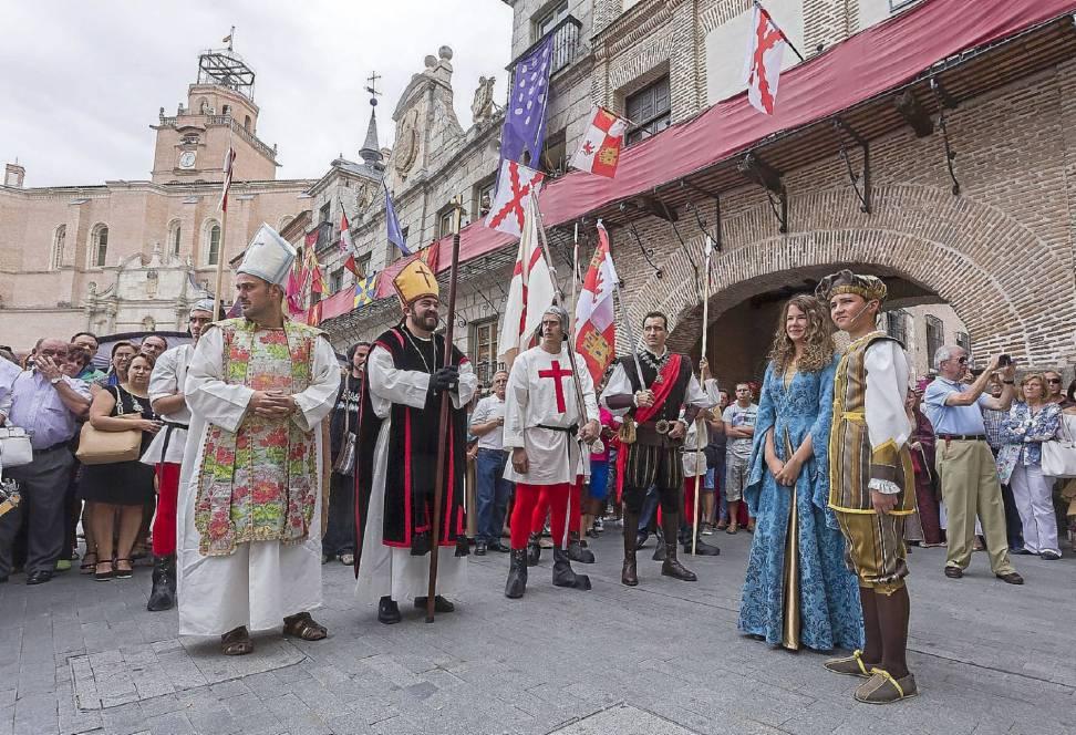 Isabel y Fernando en la Semana Renacentista de Medina del Campo