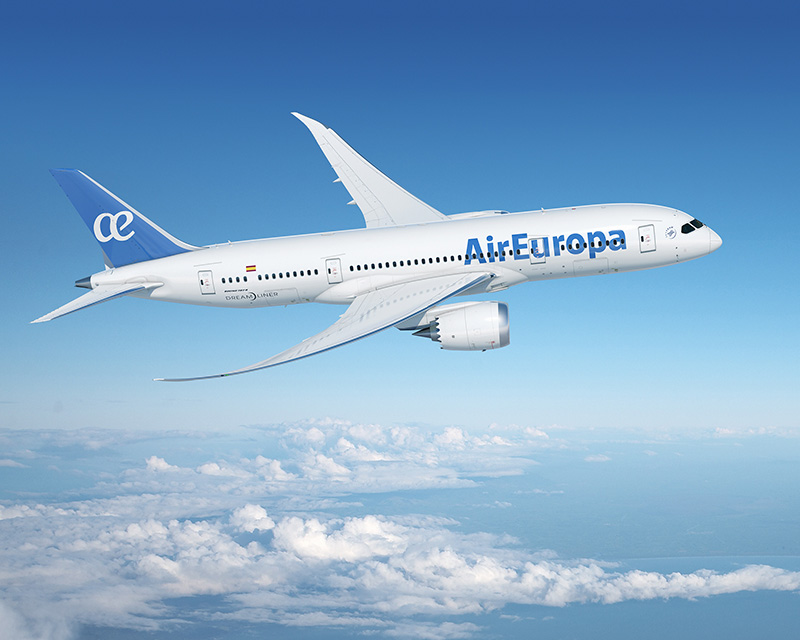 Air Europa Dreamliner 787 nueva clase business