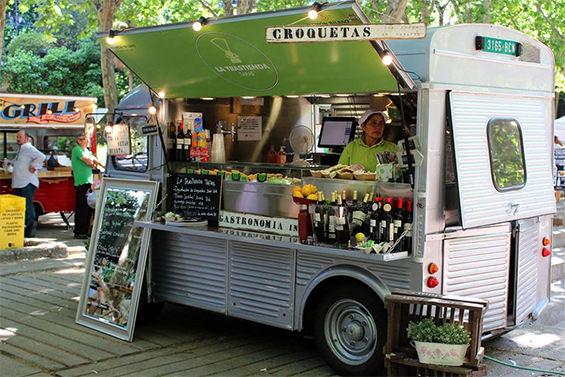 Imagen del Expo truck food de Nuevos ministerios en Madrid
