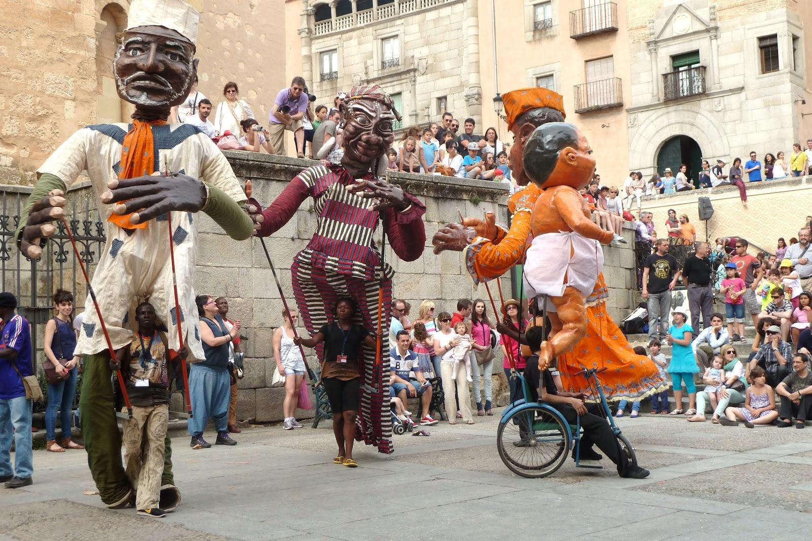 Titirimundi, Segovia, festival