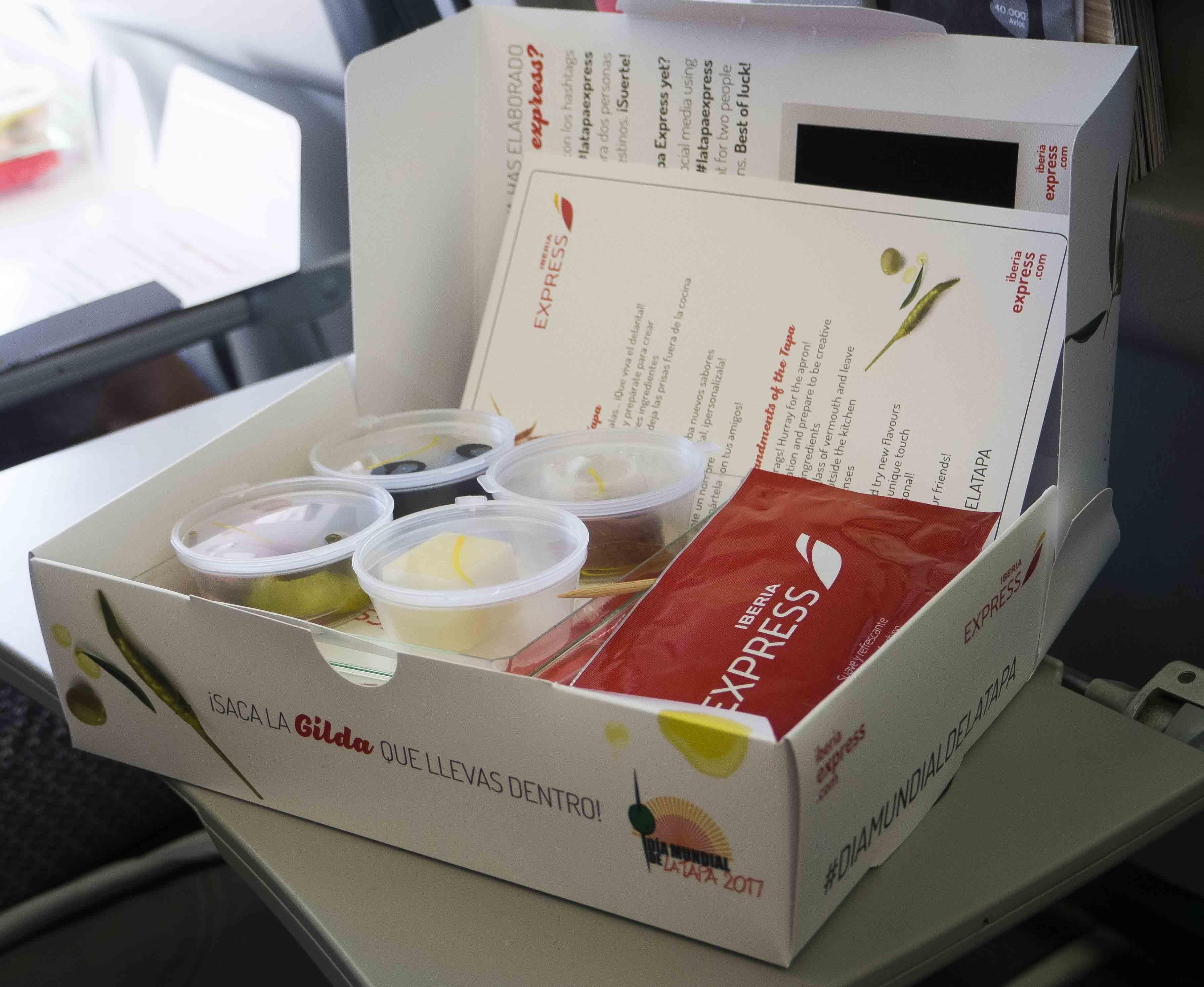 Dia Mundial de la Tapa con Iberia Express