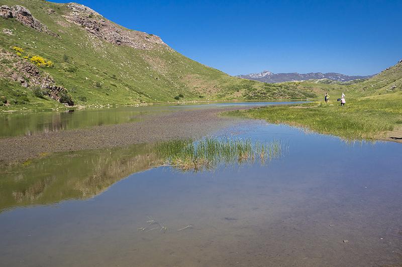 La laguna Grande en Babia