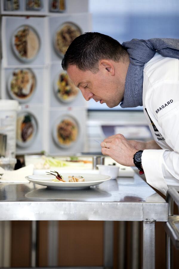 Chef François Adamsky menu business de Air France