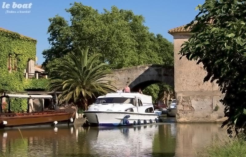 Llegada al puerto de le Somail Canal du Midi