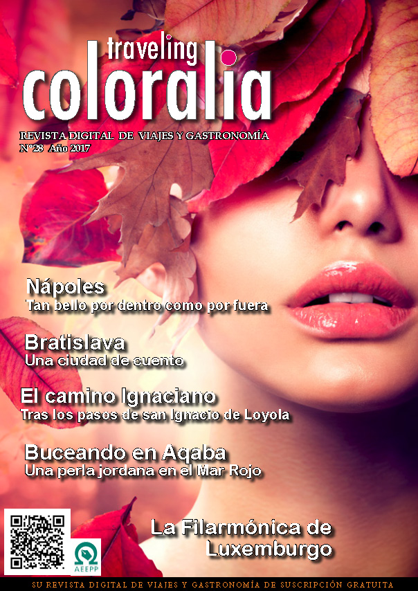 Portada Revista Traveling Nº28