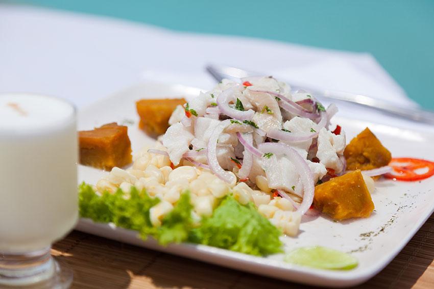 Ceviche de pescado (c)Alex Bryce Gastronomía de Perú