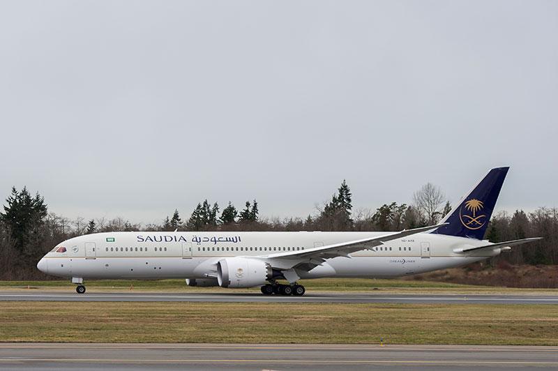 Dreamliner de Saudia Airlines