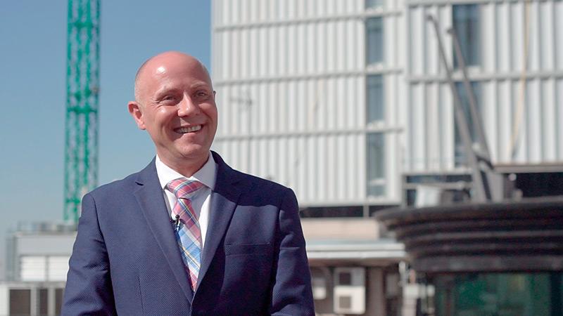 Pedro Jose Alonso Gimeno director del VT hoteles Plaza de España