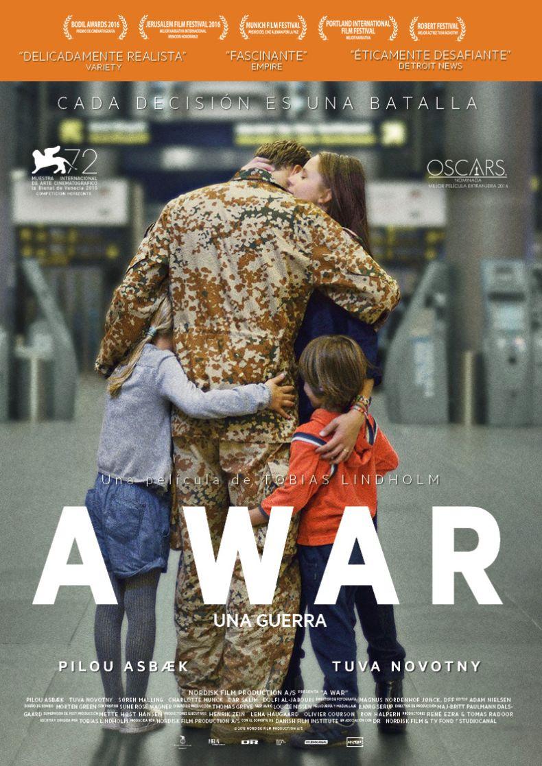 una, guerra, film