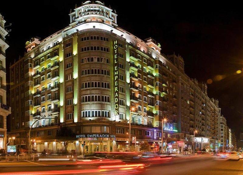 Exterior del Hotel Emperador Madrid