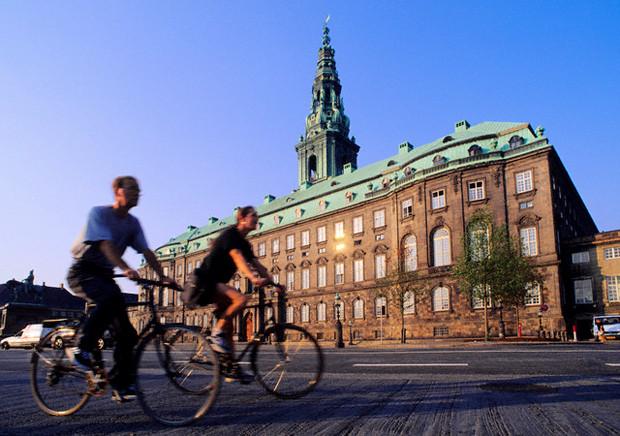 Copenhague en bicicleta
