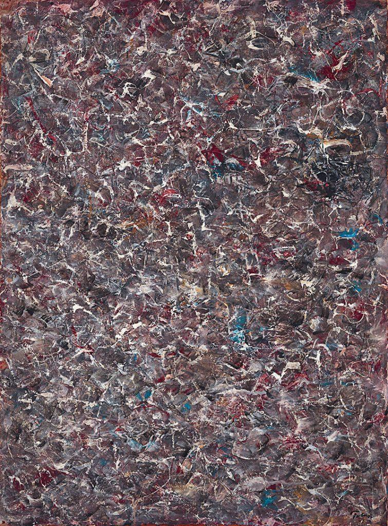 Ritmos de la Tierra (1968) de Mark Tobey
