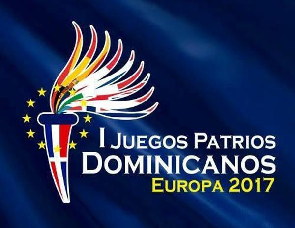Cartel de los I Juegos Patrios Dominicanos Europa 2017
