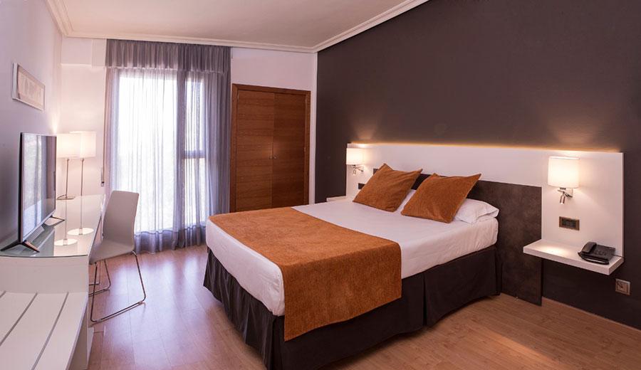 Habitacion del Sercotel Gran Hotel Zurbarán