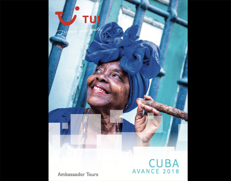 Portada catalogo Tui Spain Cuba