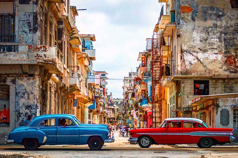 Vista de la Habana Cuba