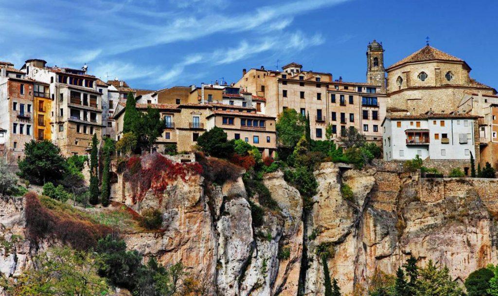 Vista de la ciudad de Cuenca finalista de la Capital Española de la Gastronomía