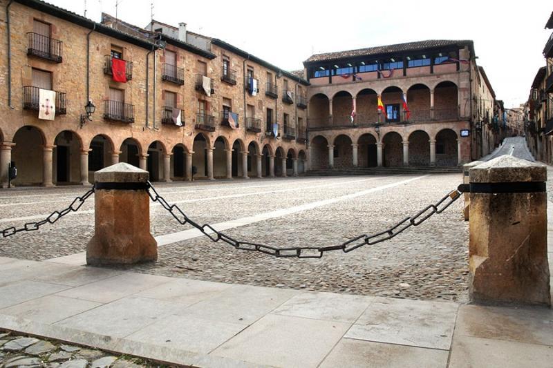 Plaza del Ayuntamiento de Sigüenza