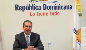 Excmo Sr. D. Francisco Javier García Ministro de turismo de la Rep. Dominicana