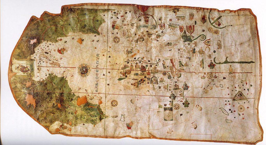 Mapa de Juan de la Cosa
